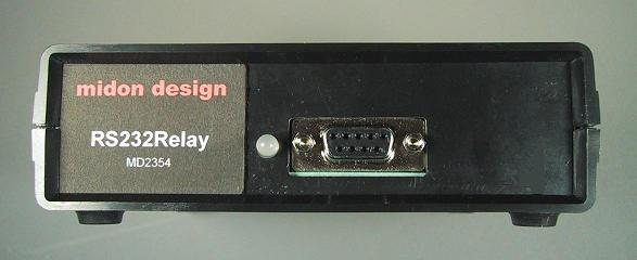 RS232 Relay with Optional Case